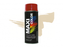 Эмаль аэрозольная универсальная декоративная Maxi Color светлая слоновая кость RAL1015