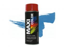 Эмаль аэрозольная универсальная декоративная, небесно-синий RAL5015 Maxi Color
