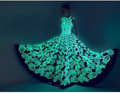 Купить Краска светящаяся AcmeLight для текстиля классик голубая 20мл