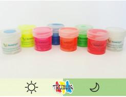 Краска люминесцентная AcmeLight для текстиля классик 20мл
