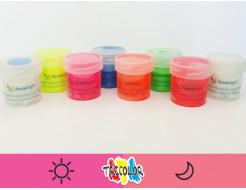 Краска светящаяся AcmeLight для текстиля розовая 20мл