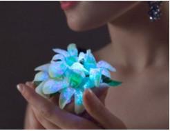 Краска светящаяся AcmeLight для цветов голубая 20мл