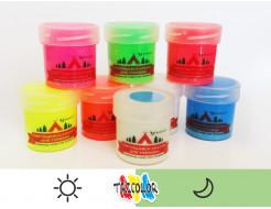 Краска люминесцентная AcmeLight для туризма белая 20мл