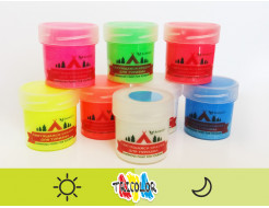 Краска люминесцентная AcmeLight для туризма желтая 20мл