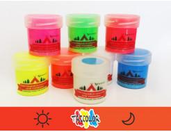 Краска светящаяся AcmeLight для туризма оранжевая 20мл