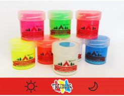 Краска люминесцентная AcmeLight для туризма красная 20мл