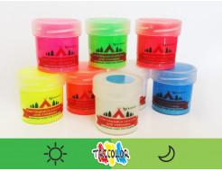 Краска люминесцентная AcmeLight для туризма зеленая 20мл