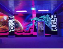 Краска флуоресцентная AcmeLight для интерьера фиолетовая