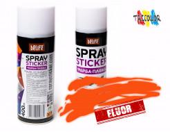 Купить Краска-пленка (жидкая резина) BeLife SPRAYSTICKER FLUOR оранжевая - 1