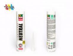 Купить Герметик силиконовый нейтральный BeLife белый 310 мл