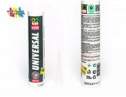 Купить Герметик силиконовый универсальный BeLife серый 310 мл