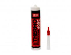 Герметик силиконовый термостойкий BeLife красный 310 мл - интернет-магазин tricolor.com.ua