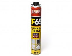 Профессиональная монтажная пена BeLife 850 мл - интернет-магазин tricolor.com.ua