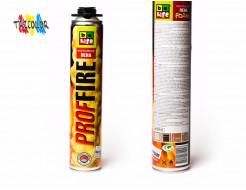 Профессиональная огнестойкая монтажная пена BeLife 750 мл