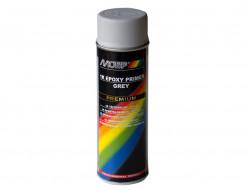 Купить Аэрозольный однокомпонентный эпоксидный грунт Motip Premium Line серый 500 мл