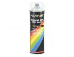 Купить Аэрозольный лак однокомпонентный Motip Premium Line бесцветный супер глянцевый 500 мл