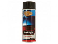 Купить Лак для тонировки задних фонарей автомобиля черный Motip
