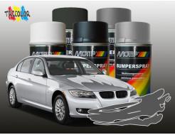 Купить Эмаль аэрозольная для бампера автомобиля темно-серая Motip 400 мл