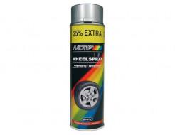 Купить Эмаль аэрозольная для дисков серебряная Motip 500 мл