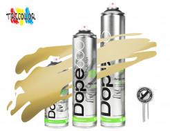 Аэрозольная краска Dope Action Gold 600 мл