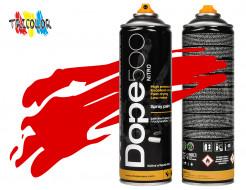 Аэрозольная краска Dope Nitro Red 500 мл