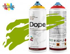 Аэрозольная краска Dope Сlassic D-086 Frog Green 400 мл