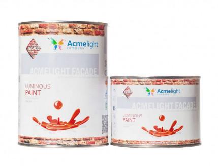 Краска люминесцентная AcmeLight для фасада голубая - интернет-магазин tricolor.com.ua