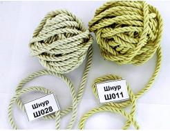 Декоративный шнур Limil № 11 светло-золотой