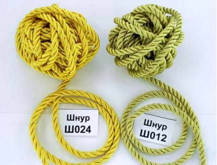 Декоративный шнур Limil № 12 золотой - интернет-магазин tricolor.com.ua