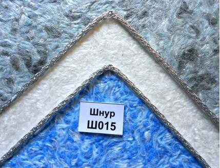 Декоративный шнур Limil № 15 серебристый - изображение 3 - интернет-магазин tricolor.com.ua