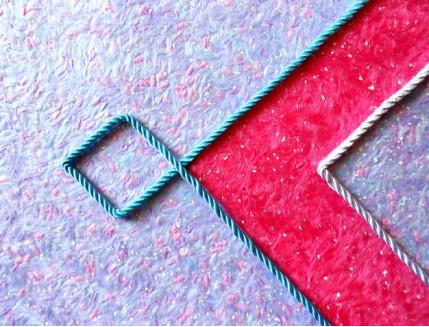 Декоративный шнур Limil № 16 голубой - изображение 2 - интернет-магазин tricolor.com.ua