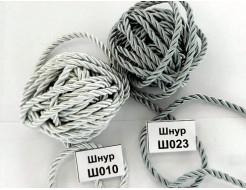 Декоративный шнур Limil № 23 серебристый - интернет-магазин tricolor.com.ua