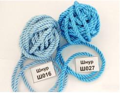 Декоративный шнур Limil № 27 голубой - интернет-магазин tricolor.com.ua