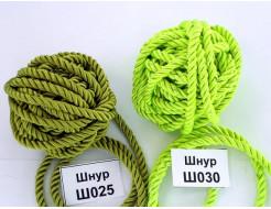 Декоративный шнур Limil № 30 салатовый - интернет-магазин tricolor.com.ua