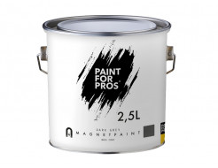 Краска интерьерная магнитная Paintforpros