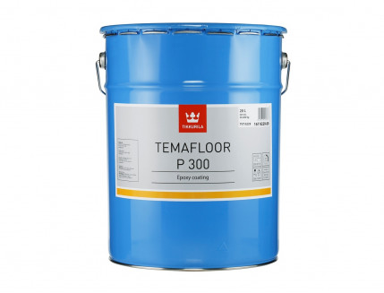 Покрытие эпоксидное 2К Темафлор П 300 Tikkurila Temafloor P 300 металлик - изображение 2 - интернет-магазин tricolor.com.ua