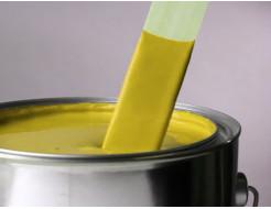 Краска для бордюров желтая