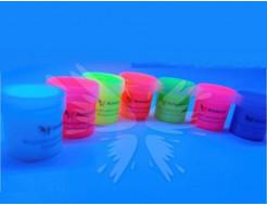 Аквагрим флуоресцентный AcmeLight для тела фиолетовый