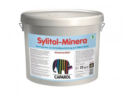 Краска-грунт фасадная силикатная Caparol Sylitol-Minera