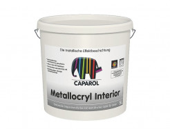 Краска интерьерная дисперсионная Caparol Capadecor Metallacryl Interior RAL 9006 - интернет-магазин tricolor.com.ua