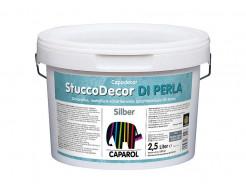 Декоративная штукатурка Caparol StuccoDecor Di Perla серебристая - интернет-магазин tricolor.com.ua
