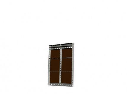 Опалубка БудМайстер щит универсальный 900*900 полимерное покрытие - интернет-магазин tricolor.com.ua