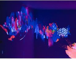 Краска флуоресцентная AcmeLight для творчества белая 20мл - интернет-магазин tricolor.com.ua