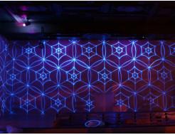 Краска флуоресцентная AcmeLight для творчества синяя 20мл - интернет-магазин tricolor.com.ua