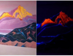Краска флуоресцентная AcmeLight для творчества оранжевая 20мл - интернет-магазин tricolor.com.ua