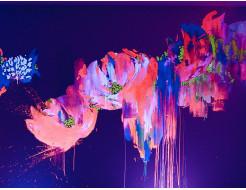 Краска флуоресцентная AcmeLight для творчества розовая 20мл - интернет-магазин tricolor.com.ua