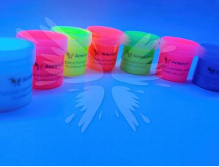 Краска флуоресцентная AcmeLight для творчества розовая 20мл - изображение 3 - интернет-магазин tricolor.com.ua