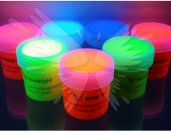 Набор флуоресцентных красок для творчества AcmeLight 8 шт - интернет-магазин tricolor.com.ua