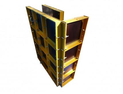 Угол внешний Будмайстер 121*121*3000 полимерное покрытие - изображение 2 - интернет-магазин tricolor.com.ua