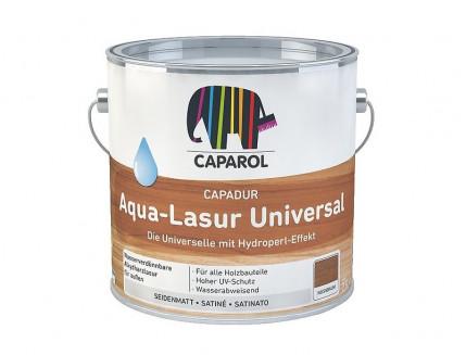 Лазурь для дерева алкидная Capadur Aqua-Lasur Universal прозрачная